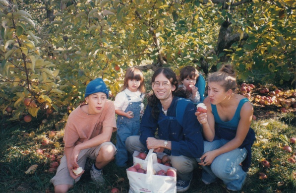 Apple picking 1999